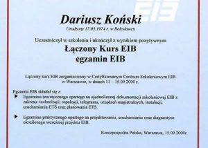 Egz-kurs EIB-1